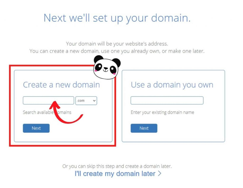 how to start a blog on bluehost step 2