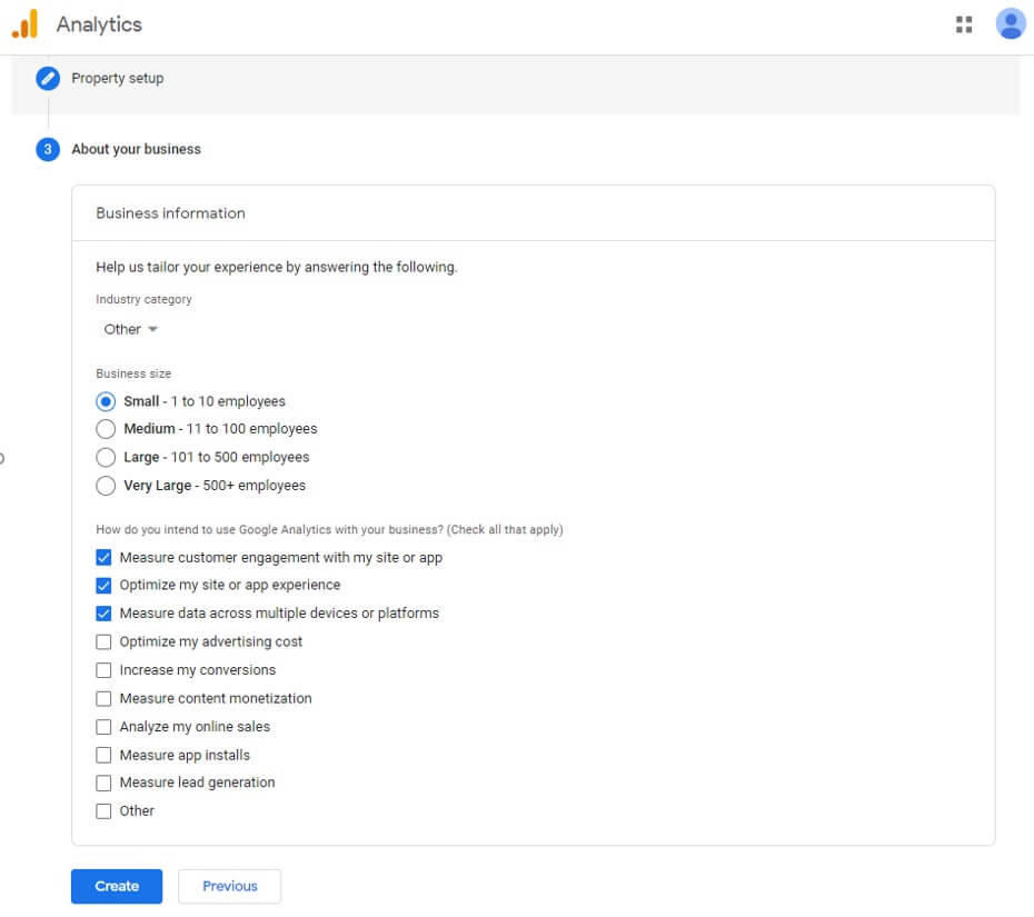 how to set up a google analytics account - 05