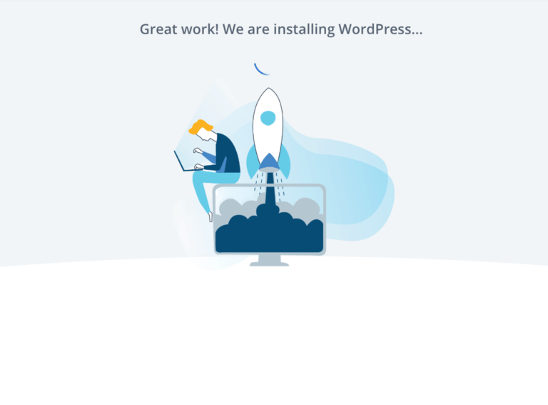 how to start a blog bluehost install wordpress