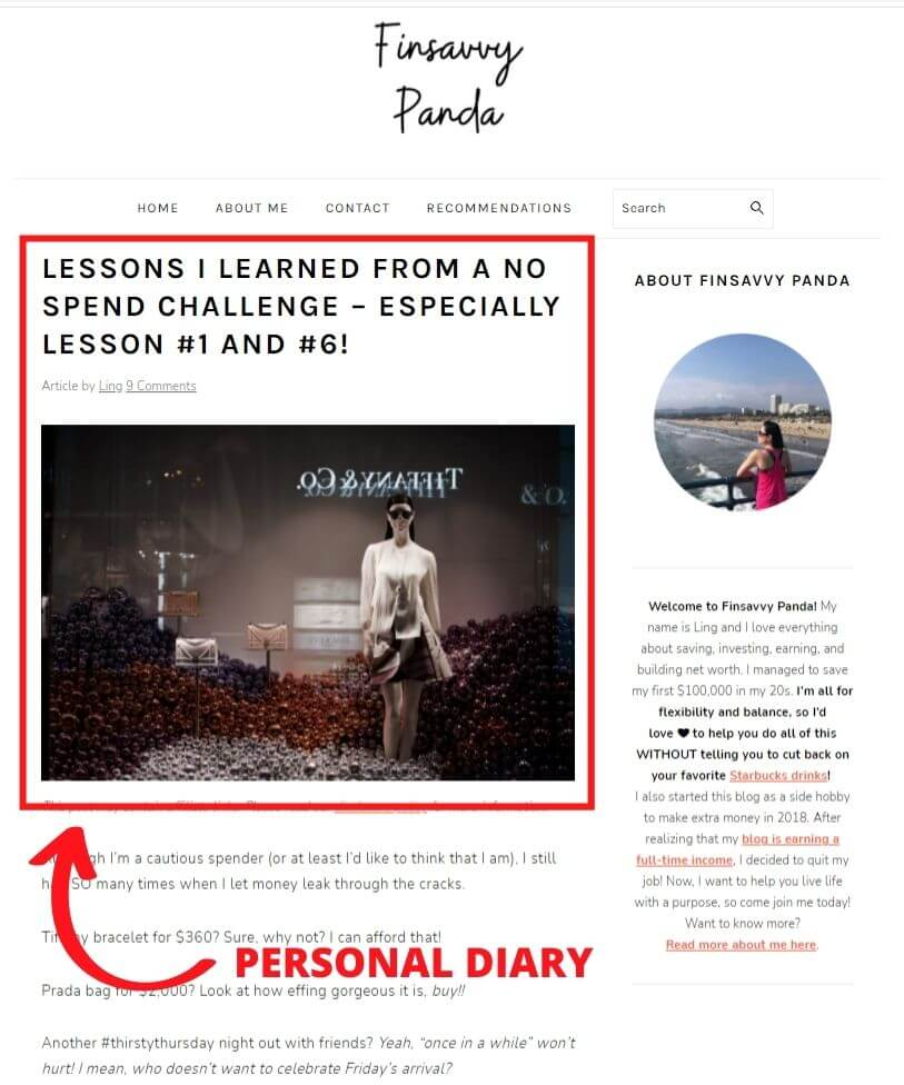 what is a blog diary blog
