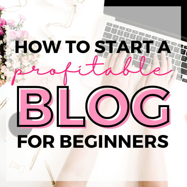 how to start a profitable blog for beginners
