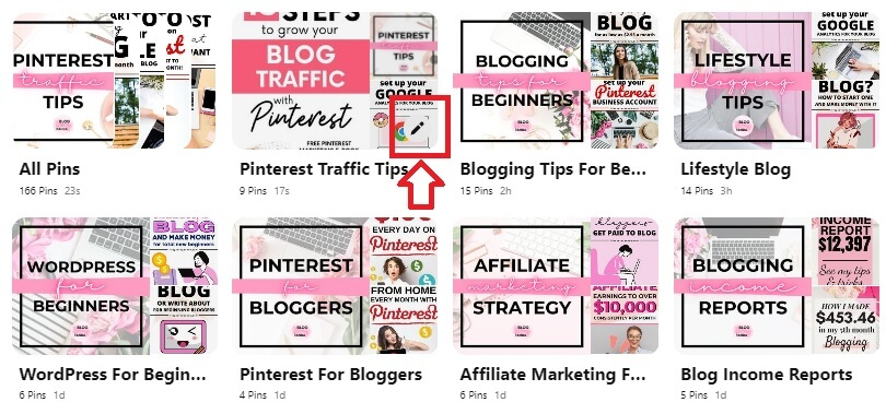 pinterest board cover select 4